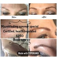 Summer Microblading special