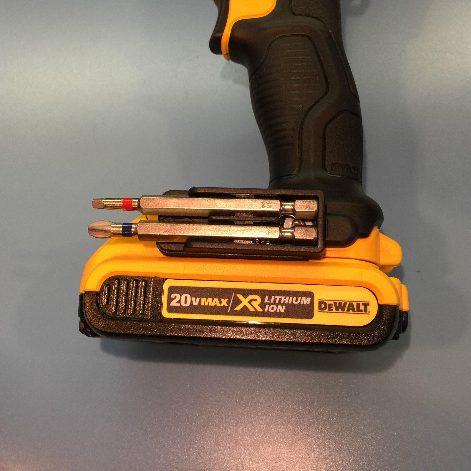 BIT HOLDER FOR DeWALT 12V OR 20V MAX DCD & DCF DRILL OR IMPACT 1