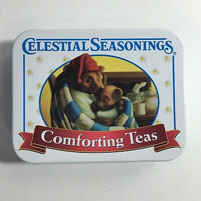 Celestial Seasonings Comforting Teas White Mini Tea Tin