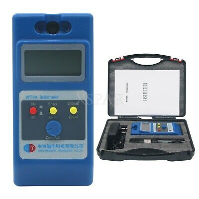 Wt10a Lcd Tesla Meter Gaussmeter Surface Magnetic Field Tester Ns Function X-sz