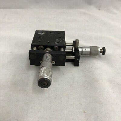 Daedal Inc Xy Precision Micrometer Ball Slide Positioning X-y Axis Stage Table