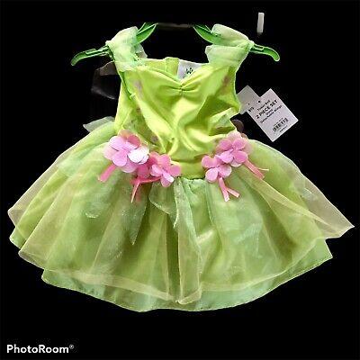 NWT Disney Baby 6 -12 Month Tinker Bell Fairy Halloween Costume Dress