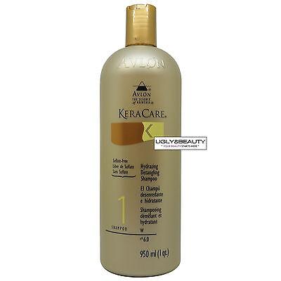 Keracare Hydrating Detangling Shampoo 950 ml (1 qt.) with Free Nail File - Hydrating Detangling Shampoo