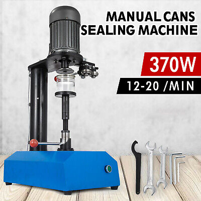 Photo 110V Tin Can Sealer Tin-Plate Can Sealing Machine Manual