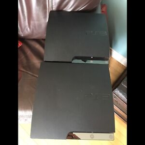 Xbox 360, two PS3's, PlaySeat only