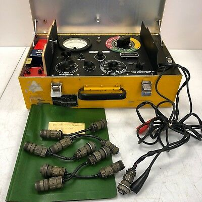 Consolidated Airborne Systems Tester Pyrometer And Thermocouple Field N-3a Th299