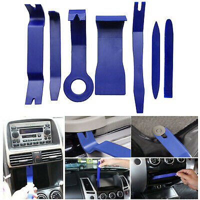7pcs Car Stereo Door Trim Dash Panel Removal Audio Installation Pry Tool Kits (Dash Panel Trim)