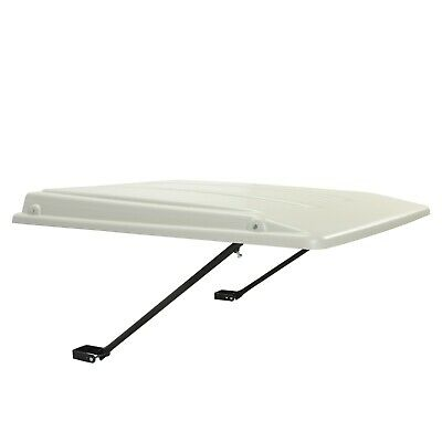 Top Canopy For John Deere Ztrak Mowers Rops -white