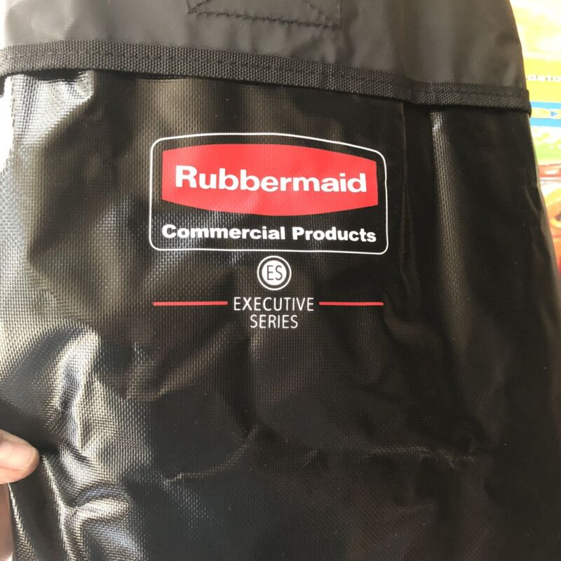 Rubbermaid Commercial Executive Series Rplc Bag for Collapsible Cart,8 Bu1884948