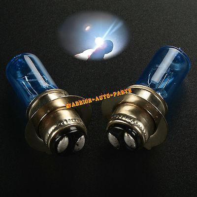 For 2002-2005 Suzuki Ozark 250 ATV Super White Xenon Headlight Bulbs 03 2004 x2