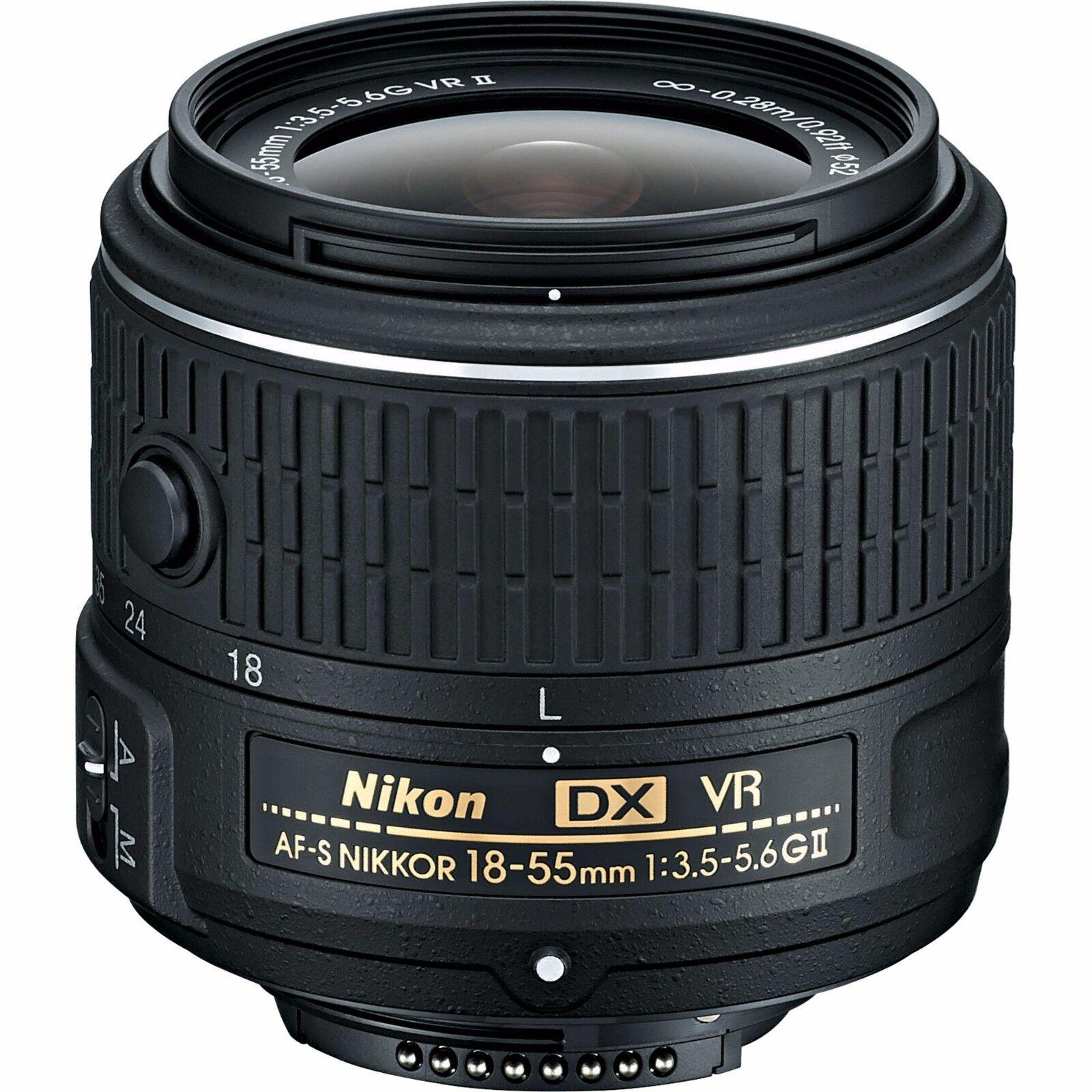 Nikon 18-55mm F3.5-5.6g Af-s Dx Vr Nikkor Zoom Lens - White Box (New) (Bulk Packaging)