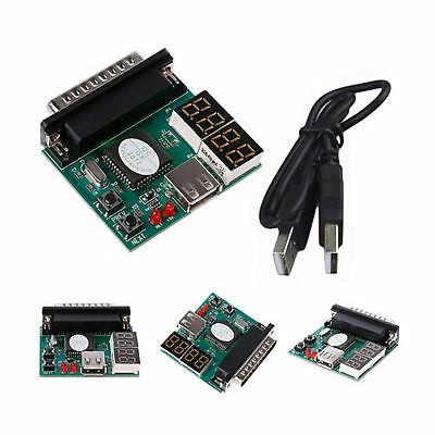 Pc Laptop Diagnostic Analyzer 4 Digit Motherboard Usb Pci Post Tester Ass