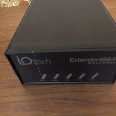 Iotech Extender488f Fiber Optic Ieee 488 10vdc Bus Extender Console Unit