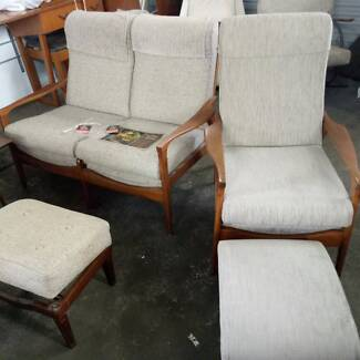 DonRex Mid-Century armchairs and two seaters
