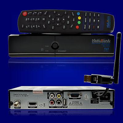 Medialink Black Panther Smart Home IPTV USB HDTV Sat Receiver DVB-S/S2 + WLAN