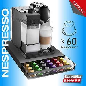Tavolaswiss Kapselspender/Kapselhalter CASSETTO-60 für 60 Nespresso-Kapseln