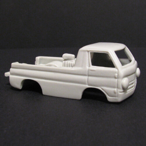 JF HO Dodge Wheel Stander Slot Car Body - Fits AW Magnatraction  #28