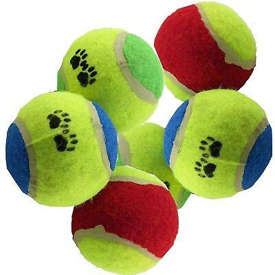 6 x Spielbälle für Hunde Hundespielzeug Ball Hund Spielzeug Tennisball (Spiel Hund)