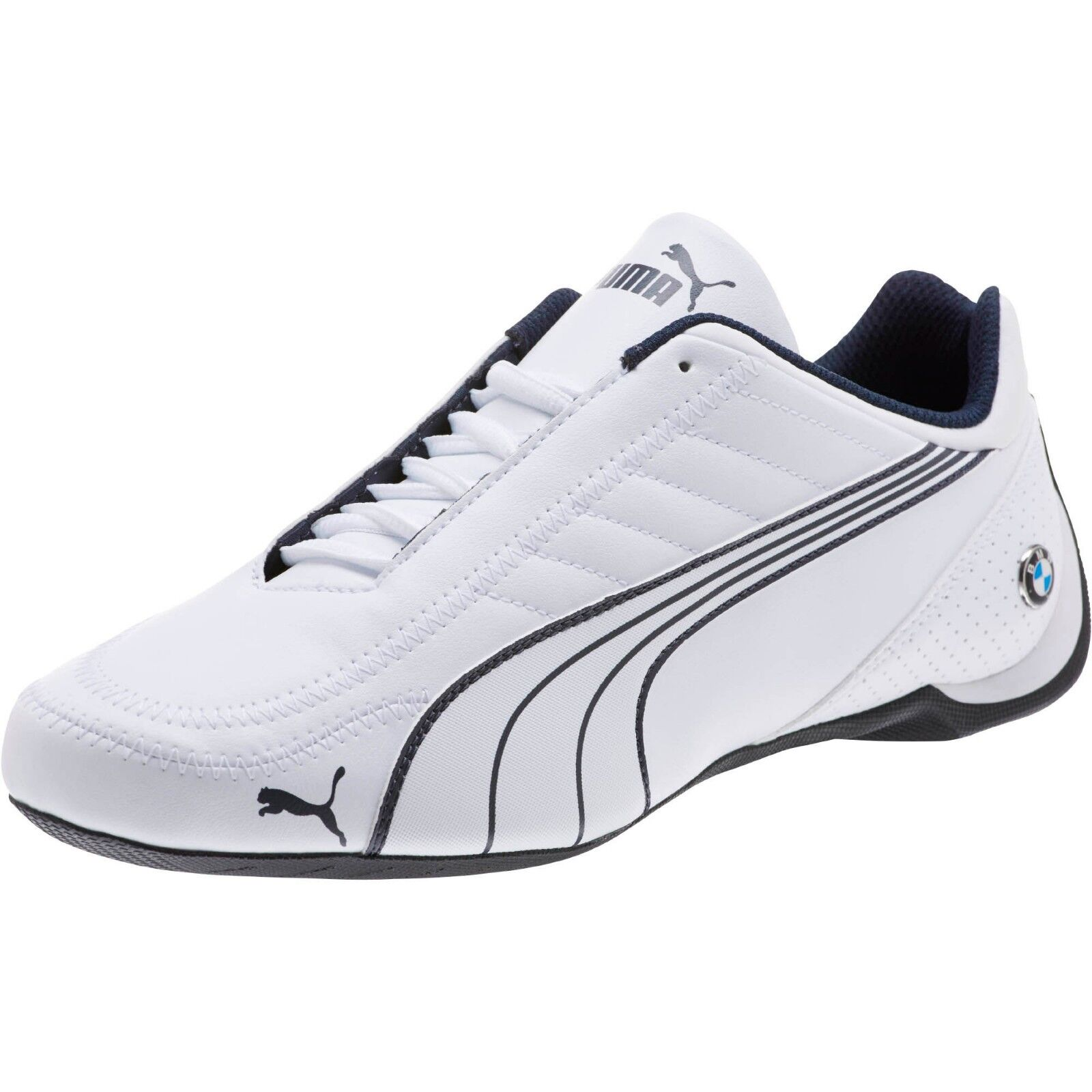 New men's Puma Future Kart Cat BMW Motorsport shoes white blue black 306216-02  1