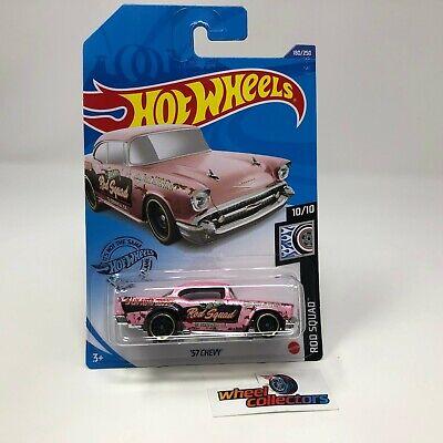 '57 Chevy #180 * Pink * 2020 Hot Wheels International Case L * JC7
