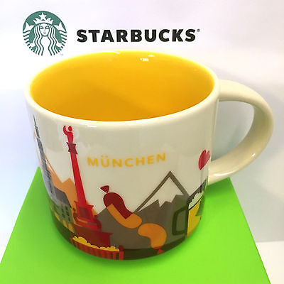 Starbucks You Are Here City MUNICH, Collection YAH München 14oz MUG NEW, GERMANY