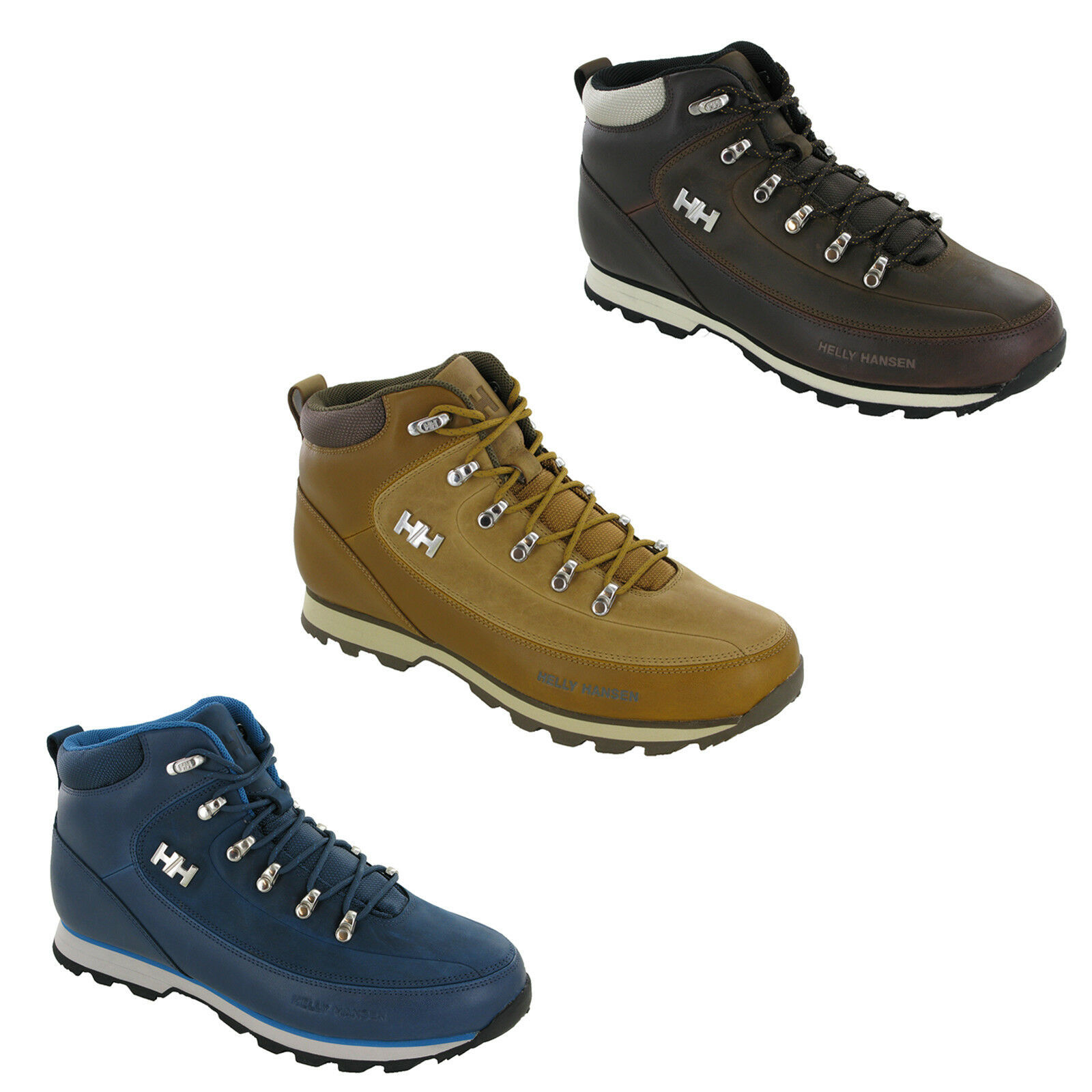 5acae406e6b Details about Helly Hansen Mens Boots Forester Winter Ankle Walking Water  Repellant Shoes