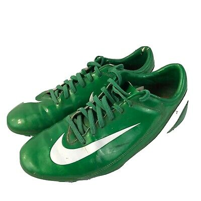 Nike Mercurial Velosi FG Soccer Cleats ~ Pine Green/White Size Men's 8 US Sports