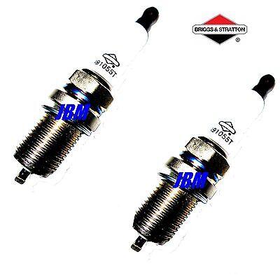 Stratton Spark Plug - Briggs & Stratton Spark Plug 491055T, RC12YC ,491055S, 491055, 2 PLUGS