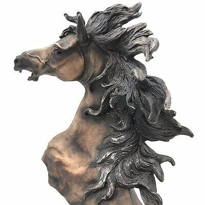 Italian Giuseppe Armani Horse Head Bust Statue