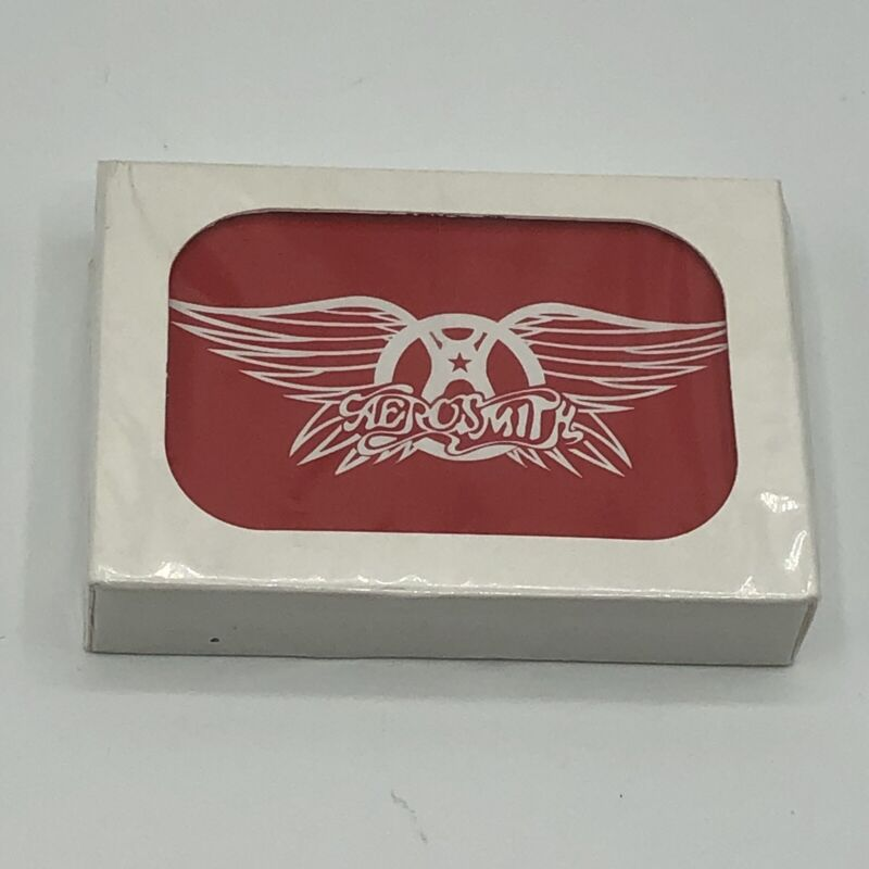 Aerosmith Wings Brand New Deck of Playing Cards Red Rock Roll Poker Tyler Perry