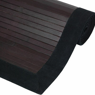 Oriental Furniture Bamboo Rug - Mocha