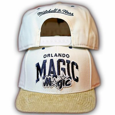 Original Mitchell & Ness Orlando Magic NBA Snapback Cap EU167 Beige/Sand  Orlando Magic Snap