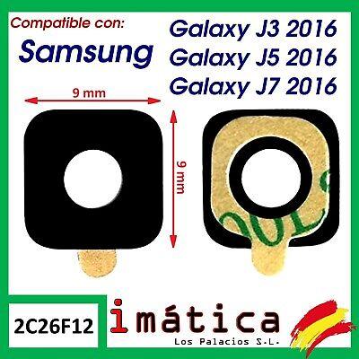 CRISTAL CAMARA LENTE SAMSUNG GALAXY J3 J5 J7 2016 J320 J510 J710...