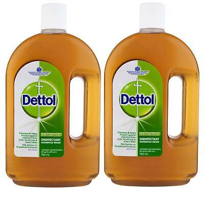 2 x Dettol Antiseptic Disinfectant Liquid 750ml