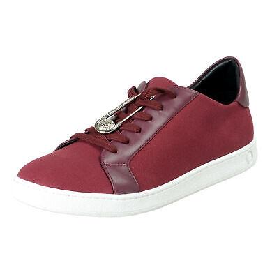 Versace Versus Men's Purple Canvas Leather Fashion Sneakers Shoes Sz 7 9 11
