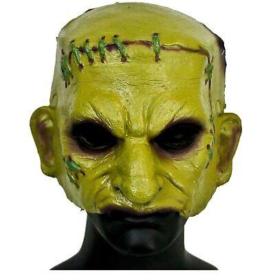 Monster Mash Costumes (Adult Teen Green Frankenstein Monster Mash Halloween Party Costume Half)