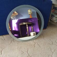 Large round wall mirror Yowie Bay Sutherland Area Preview