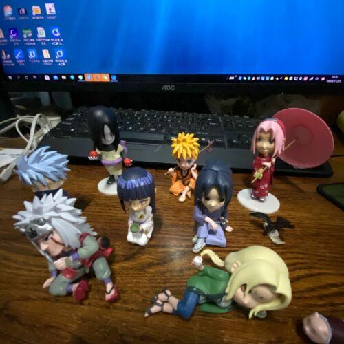 10pcs//set Anime Naruto Shippuden Uzumaki /& Tailed Beast PVC Figure New