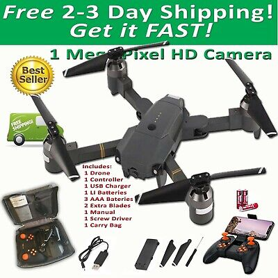 HJ28 Quadcopter Drone X Pro EXTREME Foldable WIFI FPV HD Camera 1 Battery