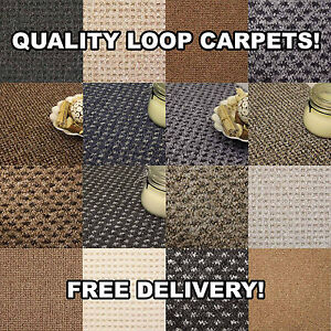 Quality loop pile flooring cheap rolls brand new for Best quality carpet brands