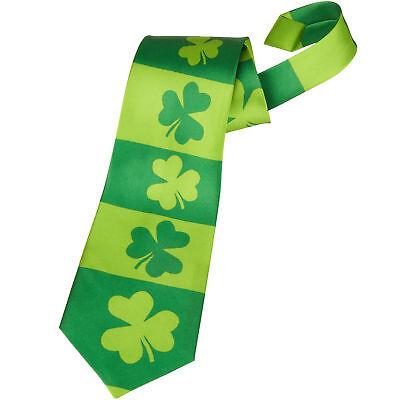 St. Patricks Day Krawatte Kleeblatt Accessoires Irland Karneval - St Patricks Party