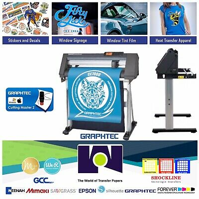 24 60cmgraphtec Ce7000-60 Vinyl Cutterplotter 2 Years Warranty Free Shipping