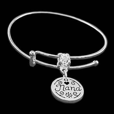 Best Nana Bracelet my Nana charm bracelet grammy bracelet granny jewelry