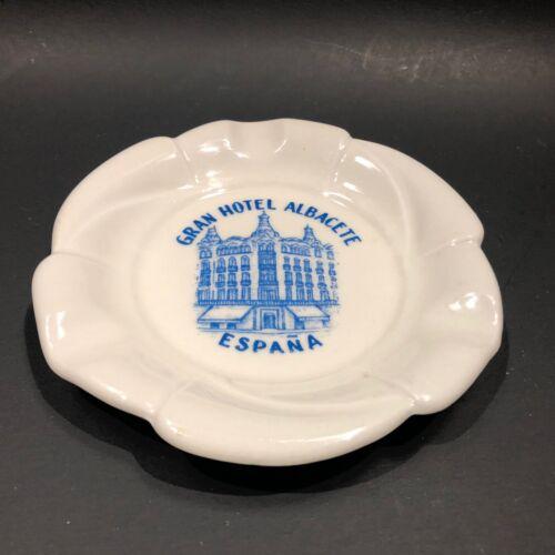 GRAN HOTEL ALBACETE Espana Grife & Escoda Coin Trinket Dish SPAIN Ashtray Mement