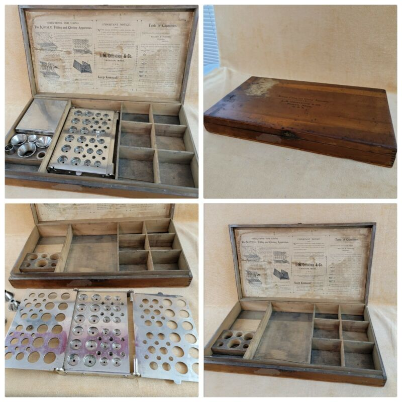 VINTAGE KONSEAL FILLING & CLOSING KIT Apothecary Pharmaceutical Pharmacist Rx