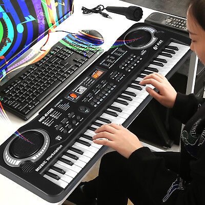 61 Keys Digital Music Electronic Keybaord Electric Piano & Microphone Gift Set