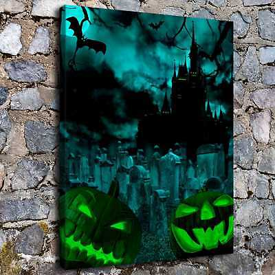 Halloween Scary HD Canvas print Painting Home Decor Picture Room Wall art Poster - Halloween Wall Art