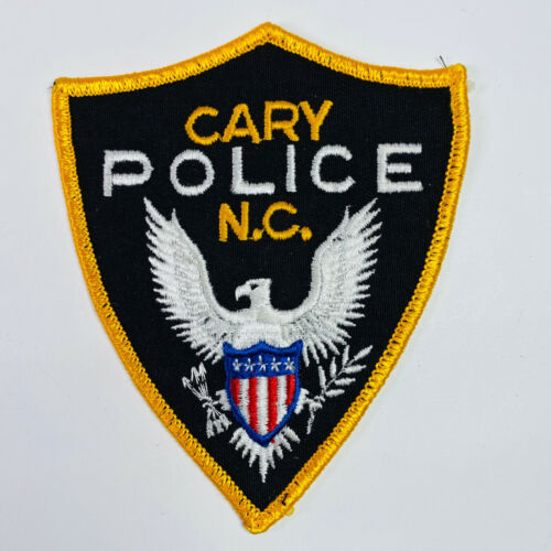 Cary Police North Carolina Patch (A1)