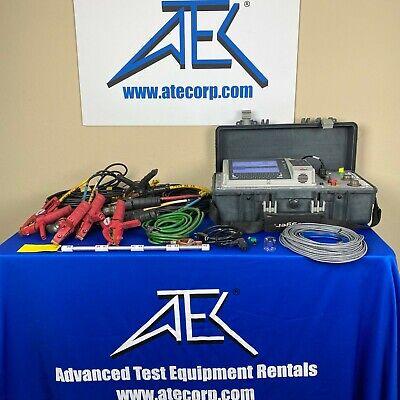Megger Ttr330 Three-phase Transformer Turn Ratio Test Set Kit