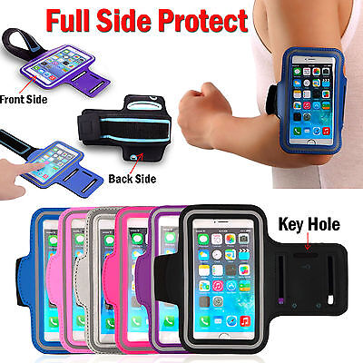 Gym Running Jogging Arm Band Sports Armband Case Holder Strap For iPHONE 8 7 6s